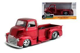 jada toys 1 24 w b just trucks 1952 chevrolet coe pickup diecast