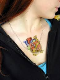 make tattoo necklace images Faux tattoo necklace how to make a shrink plastic pendant jpg