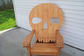 skull chair by mikede lumberjocks com woodworking community