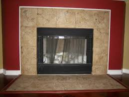 tile around fireplace ideas decorating ideas contemporary fancy to