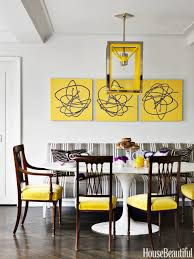 Yellow Dining Chair Black Dining Table With Ivory Velvet Dining Chairs And Yellow