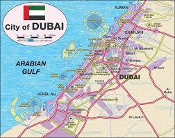 Pa Road Map Dubai Map
