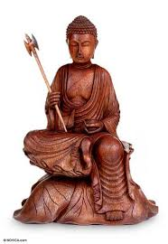 unique wood sculpture from indonesia buddha s journey novica