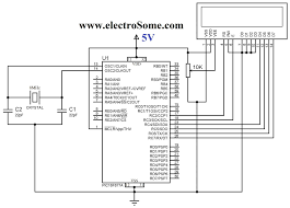 lcd interfacing with pic microcontroller mikroc pro