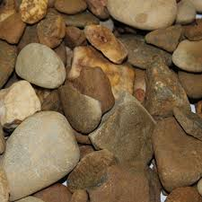 Pebbles And Rocks Garden Garden Pebbles Geelong River Landscaping