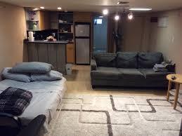 beautiful cozy basement studio apartment brooklyn new york city