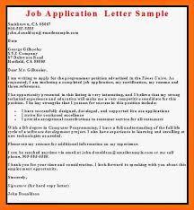 job application sample email job application sample sample letter