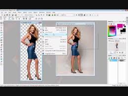 how to remove the background cut out people on paint shop pro