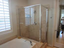 Frame Shower Doors by Framed To Frameless La Jolla Patriot Glass And Mirror San