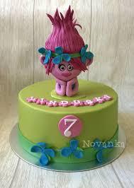 poppy from the trolls cake by novanka cakesdecor