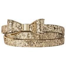 bow belts supply co glitter bow belt gold target