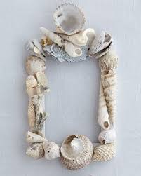seashell picture frame recipe seashell picture frames
