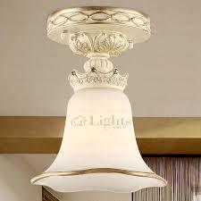 Low Profile Ceiling Light Glass Shade E26 E27 Screw Base Low Profile Ceiling Light