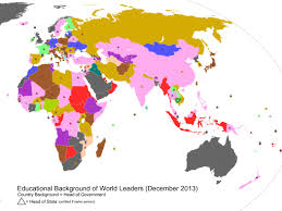 Pictures Of World Map by What The World U0027s Leaders Studied Business Insider