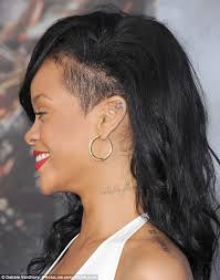 rihanna honours late grandmother with tattoo of goddess isis