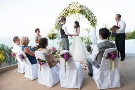 western wedding western wedding ceremony koh samui