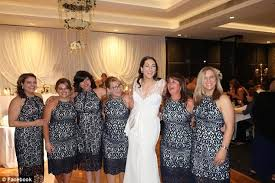 wedding in the six guests attend a wedding in the same forever new dress daily