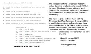 literary exams page