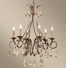 Murray Feiss Vanity Lighting Fixtures Feiss F2636 6gis Crystal Reina Six Light Chandelier