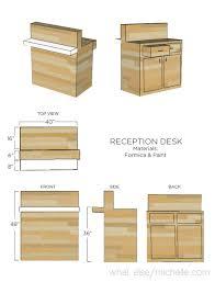 Build Reception Desk How To Build A Reception Desk Diy Ayresmarcus