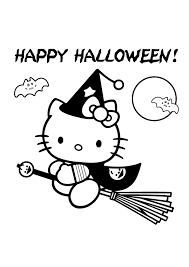 simple halloween coloring pages printables halloween coloring