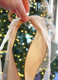 how to add ribbon to a tree a pop of pretty