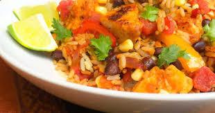 recette cuisine mexicaine riz tex mex au poulet recette par la fabrique gourmande