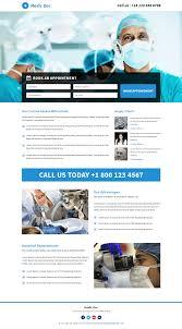 best responsive doctor medical template buy landing pages design