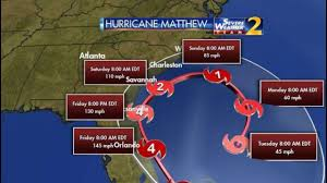 Orlando Crime Map by Hurricane Matthew Mandatory Evacuations Issued For Parts Of