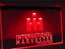 international harvester home decor lg133 international harvester tractor led neon light sign home decor
