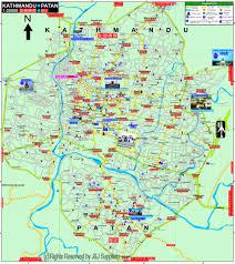 Kathmandu Nepal Map by Kathmandu Map My Blog