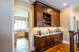 wood island kitchen taupe custom kitchen with wood island pantry