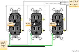 Cool Wall Receptacle Fritzing Simple Power Outlet Circuitry Forums