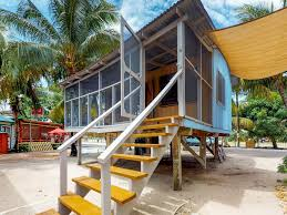 beach cabana right in town with screened in porch hammock and 2