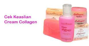 Resmi Collagen Asli cara mengecek keaslian collagen distributor resmi