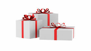 individual ornament gift boxes gift box with gold ribbon opening include alpha channel and