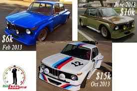 Lubbock Craigslist Cars And Trucks By Owner by Daily Turismo 15k 3 Paint Jobs And A Funeral 1969 Bmw 2002