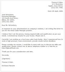 Sales Resume Cover Letter Examples by Business Cover Letter Examples Cover Letter Now