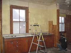 how to demo kitchen cabinets removing kitchen cabinets
