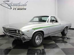 New Chevrolet El Camino 1969 Chevrolet El Camino For Sale On Classiccars Com 26 Available