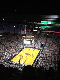 american airlines arena section 402 row 12 seat miami heat