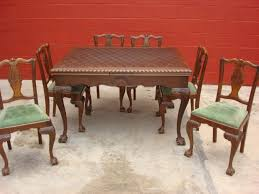 antique dining room sets antique dining table and chairs marceladick