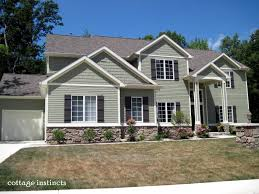 5 most popular home siding colors red brick house