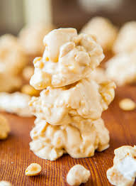 white chocolate peanut butter cookie clusters averie cooks