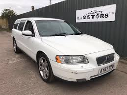 volvo v70 2 4 t5 se estate petrol white 2008 in manchester gumtree