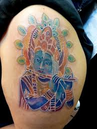 mully tattoo tattoos body part arm hindu goddess krishna