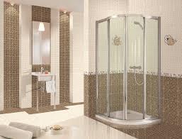 bathroom interior bathroom clear glass block as divider walk in