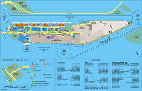 Port Of Spain Map by Miami Maps Florida U S Maps Of Miami