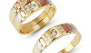 gold wedding ring sets ring yellow gold wedding ring sets puppies plain gold wedding