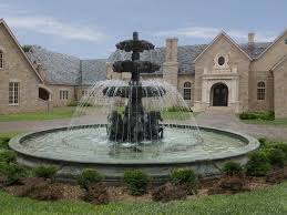 Backyard Fountains For Sale by Large Outdoor Fountains Solar Design